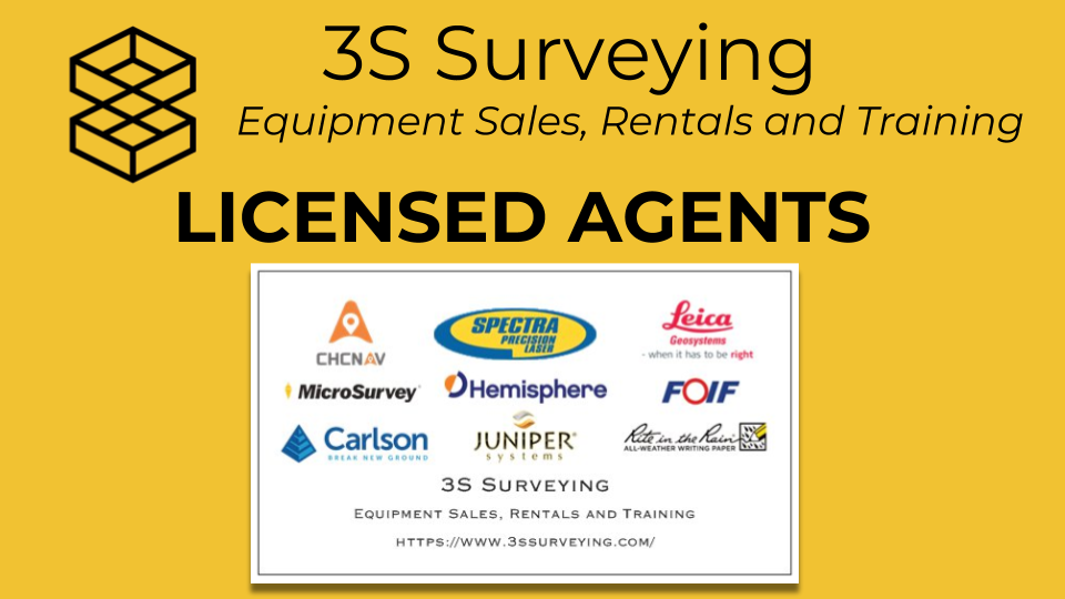 3S Surveying Equipment Sales and Training
