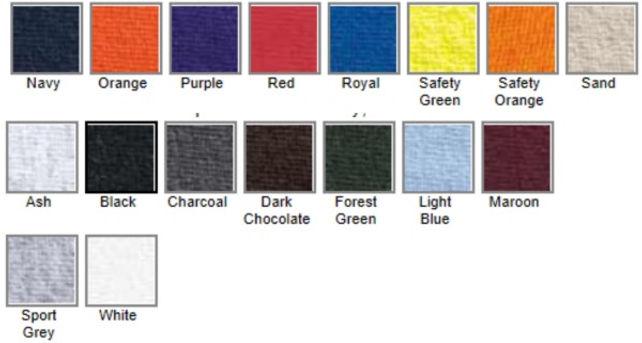 2300 Pocket T-Shirt Colors.jpg