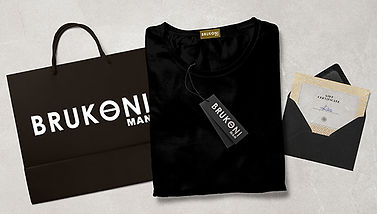 Ad specialty items from brand identity package