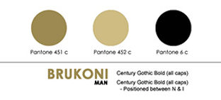 branding color swatch showing elements of brand identity