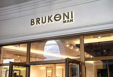 Brand Identity showing Store signage