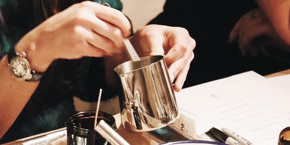 Essential Oil Candle Making Workshop   2 April 2020  8 p.m