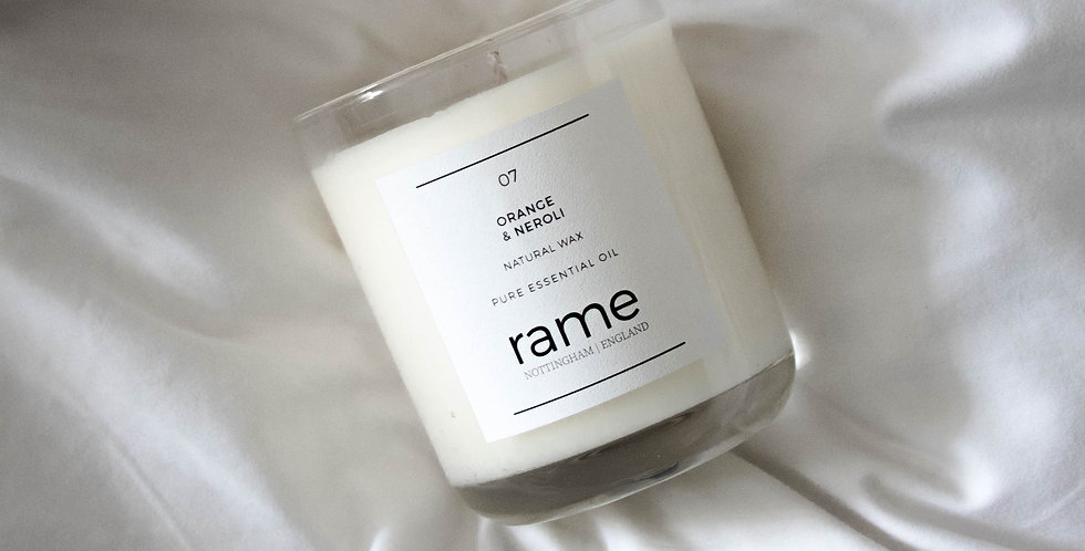 ORANGE + NEROLI LARGE CANDLE