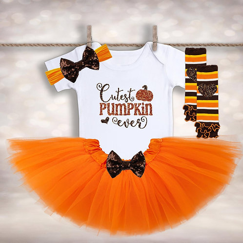 Cutest Pumpkin Ever Outfit