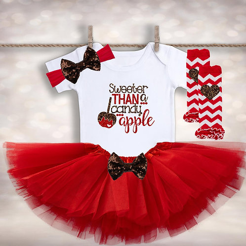 Sweeter Than a Candy Apple Outfit