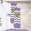 Thumbnail: My First Birthday - Lavender&Gold