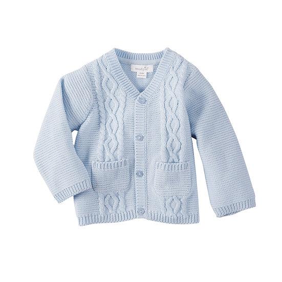 Baby Boy Blue Cardigan by MudPie