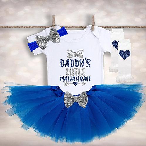 Daddy's Little Matzah Ball Outfit