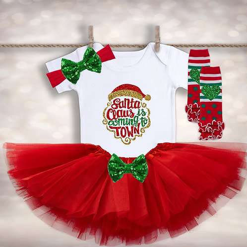 Girl's Santa Claus Outfit