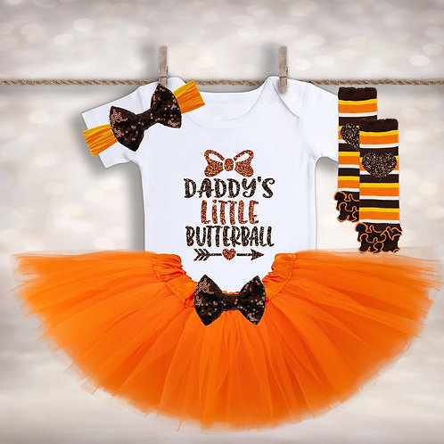 Baby Girls 1st Thanksgiving Outfit