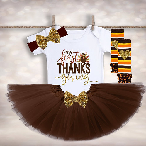 My First Thanksgiving Outfit