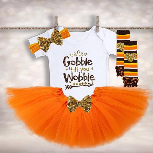 Gobble til You Wobble Outfit