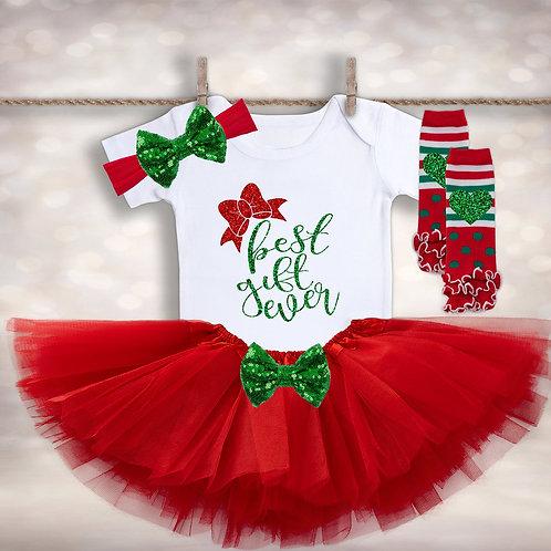 Newborn Christmas Tutu Outfit