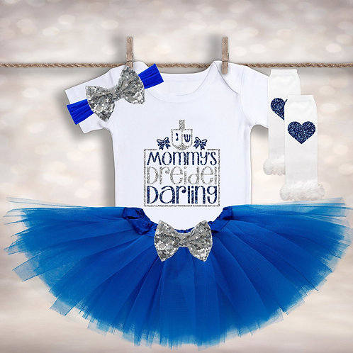 Mommy's Dreidel Darling Outfit