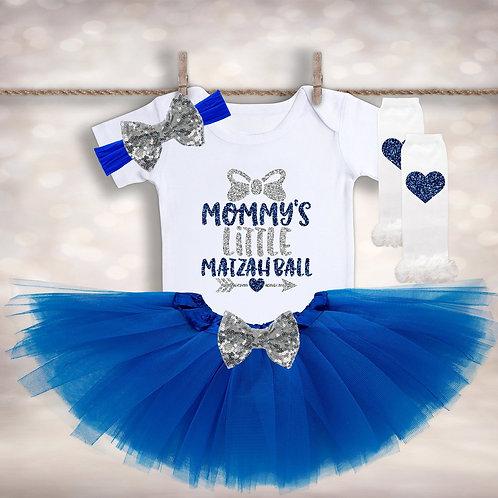 Mommy's Little Matzah Ball Outfit