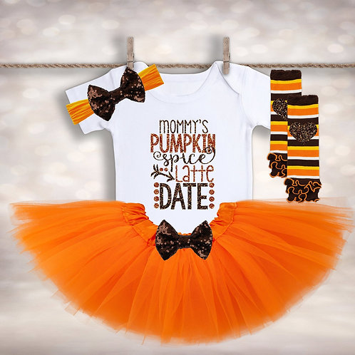 Mommy's Pumpkin Spice Latte Date Outfit