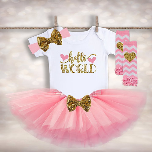 Hello World Tutu Set
