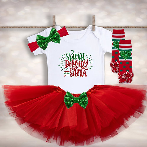 Special Delivery from Santa Tutu Outfit