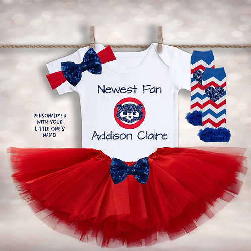 Newest Chicago CUBS Fan Tutu