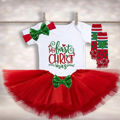 Christmas Tutu Oufit