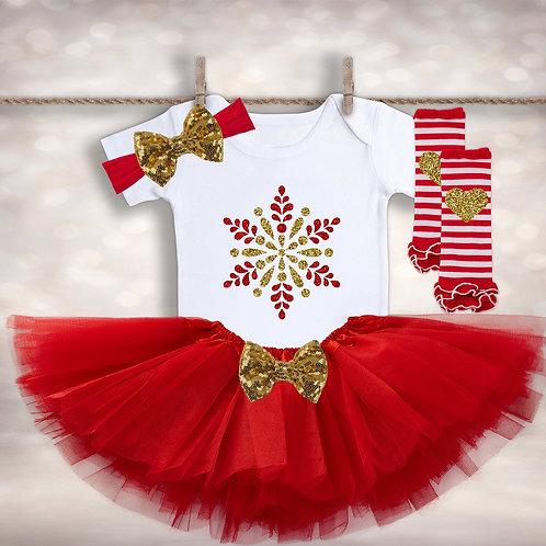 Snowflake Tutu Outfit