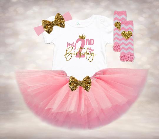 My 2nd Birthday - Pink&Gold