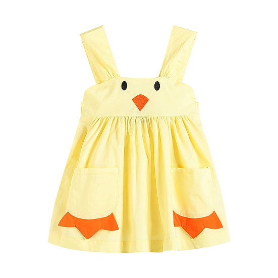 Yellow Baby Chick A-Line Dress