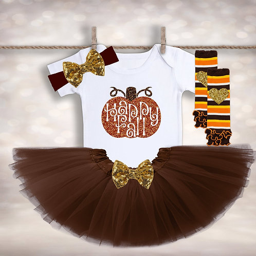 Happy Fall Tutu Set