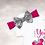 Thumbnail: Disney Young Wild & Three - Fuchsia&Silver