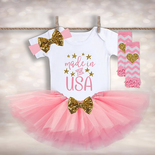 Made in the USA Tutu Outfit