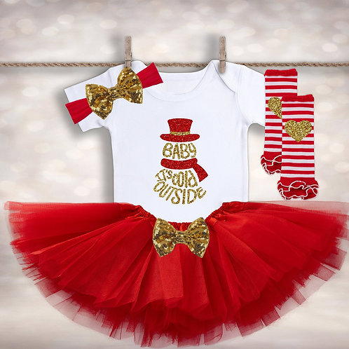Baby It's Cold Outside Tutu Outfit