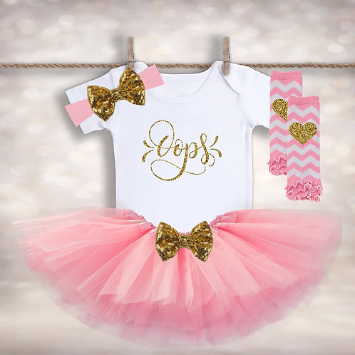 OOPS Baby Girl Tutu Outfit