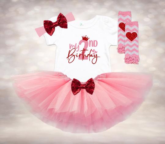 My 2nd Birthday - Pink&Red