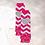 Thumbnail: Little Miss Threenager -Fuchsia&Silver