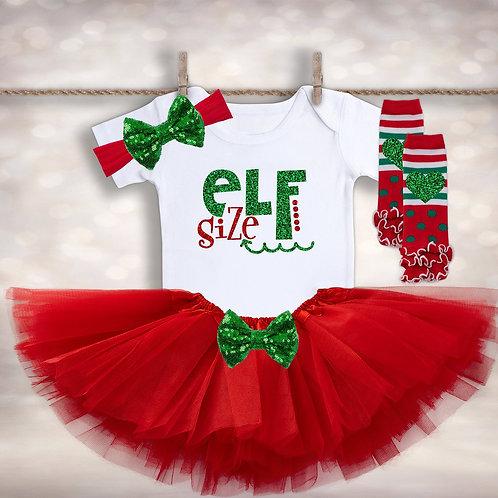 Elf Size Tutu Outfit