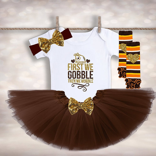 First We Gobble Outfit