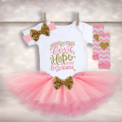 IVF Tutu Baby Outfit