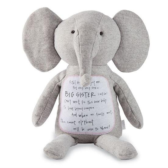 Big Sister Elephant by MudPie