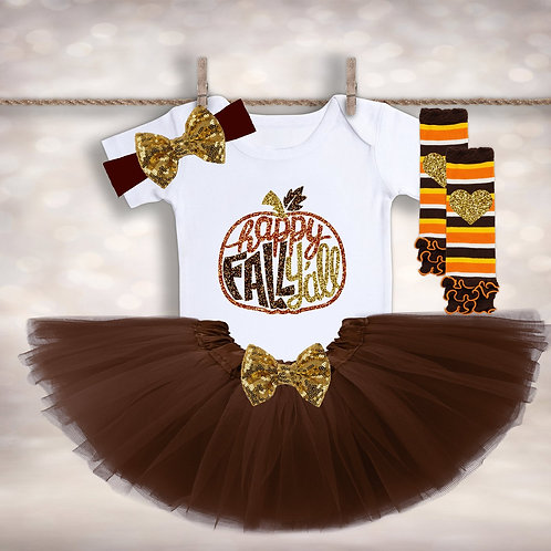 Happy Fall Y'all Tutu Set