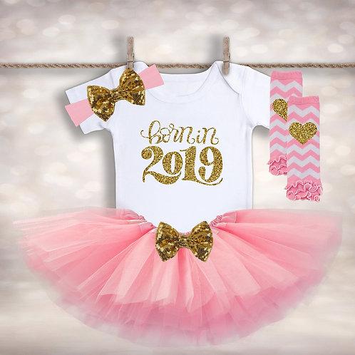 Born in 2019 Tutu Outfit
