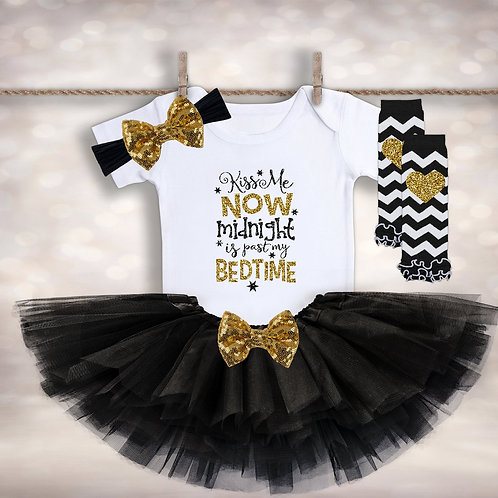 Baby Girl's 1st New Years Outfit