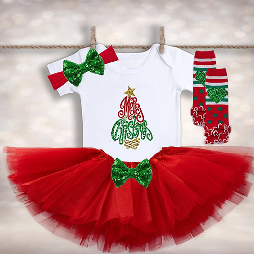 Merry Christmas Tutu Outfit