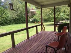 idylwild cottage front porch