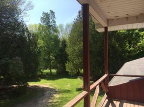 idylwild cottage loft balcony