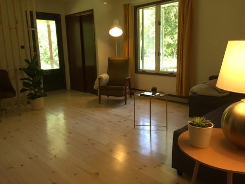 idylwild cottage living room