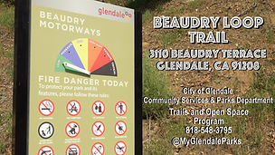 Beaudry Loop Trail Hike - Timelapse -Thu