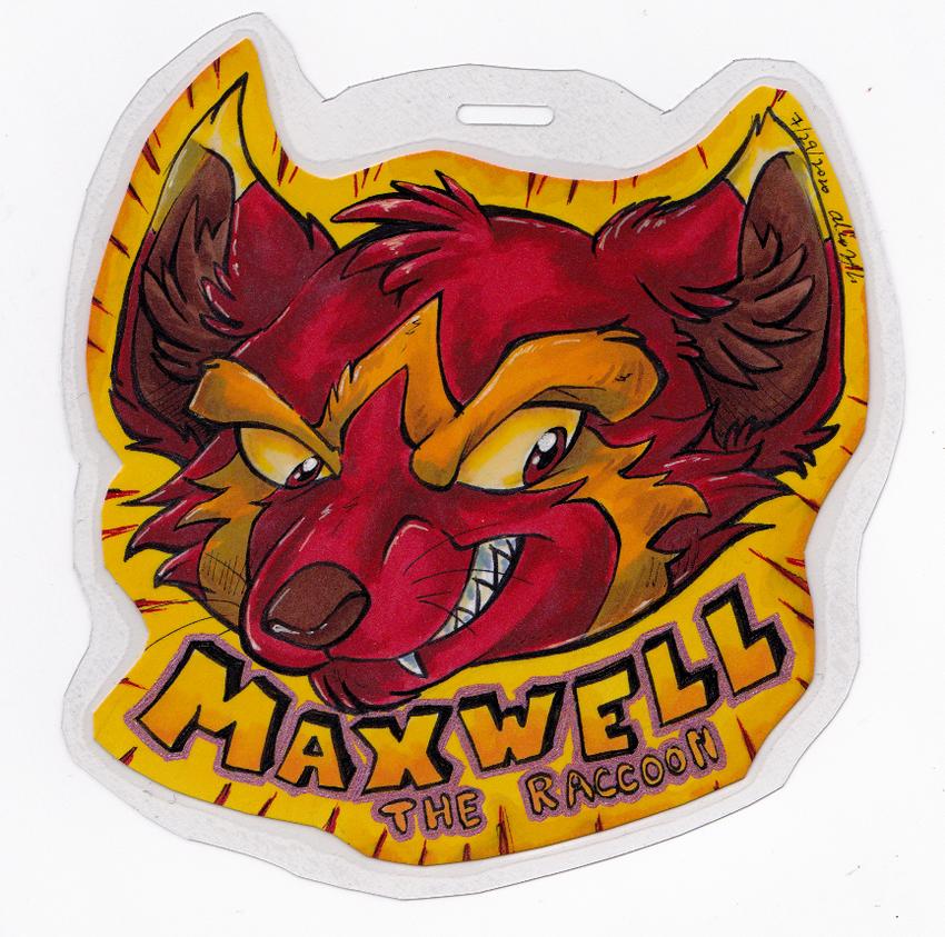 Maxwell badge