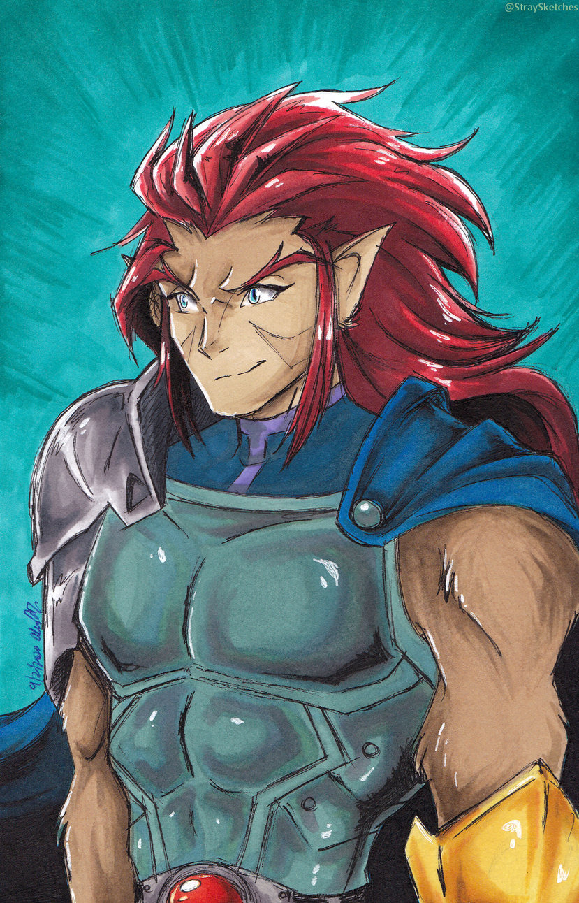Long-haired Lion-O