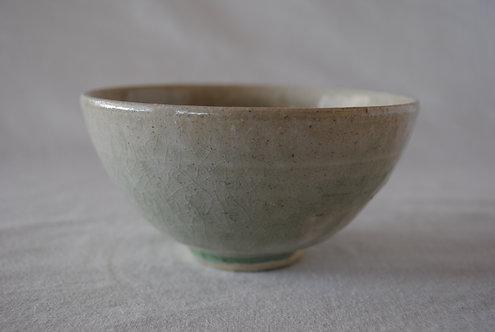 河内啓 灰釉茶碗
