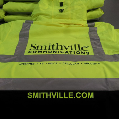 Safety Vest: Screen Printing